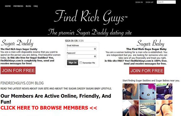 FindRichGuys.com Review